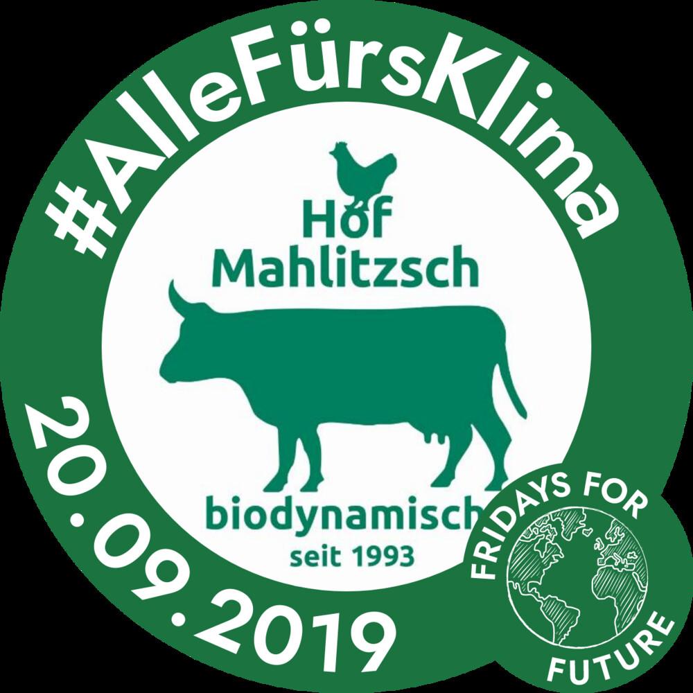 Logo #allefürsKlima