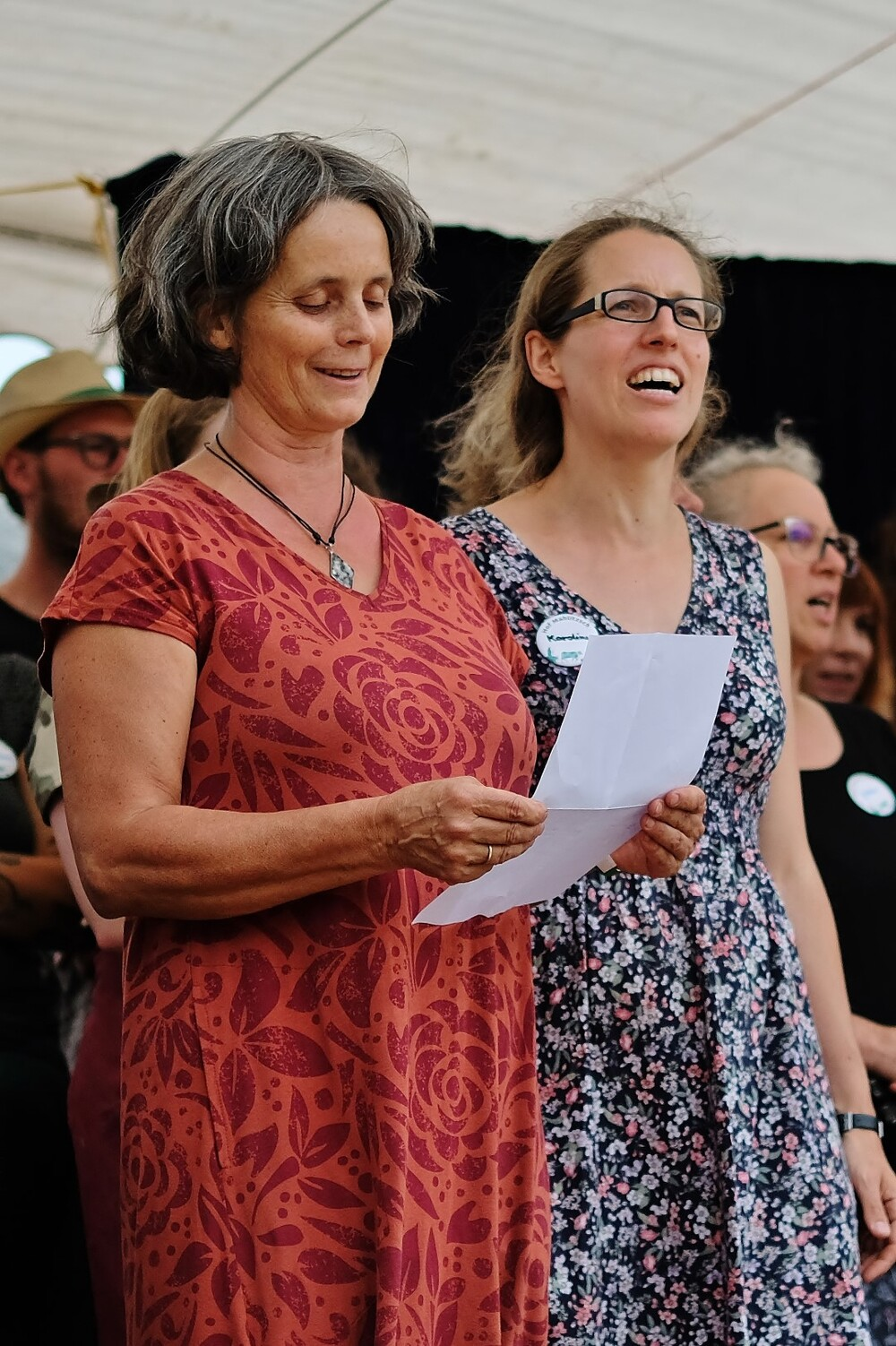 Hoffest 2019 Hofgemeinschaft singt