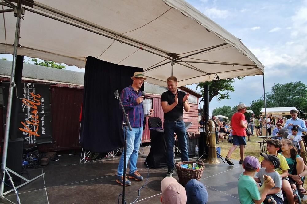 Hoffest 2019 Bühne Preisverleihung