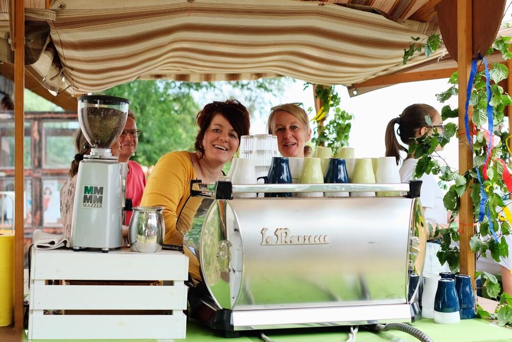 Hoffest 2019 Kaffee Stand